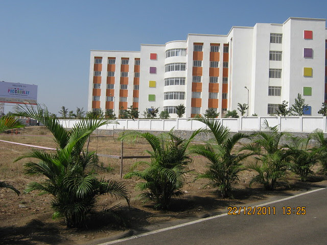 Akshara International School from Kumar Piccadilly, Wakad, Pune 411 057