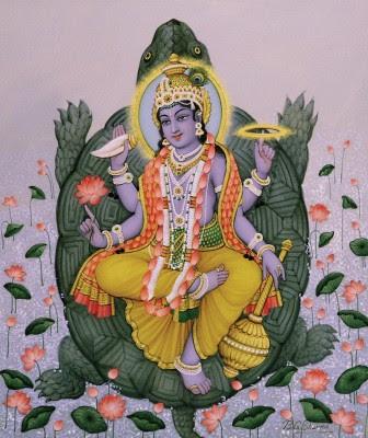 Kurma Avatar - The Turtle - The Second Avatar of Lord Vishnu