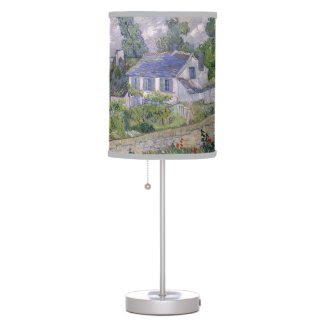 Blossom Gogh Flower Country Cottage Poppy Vintage Table Lamp