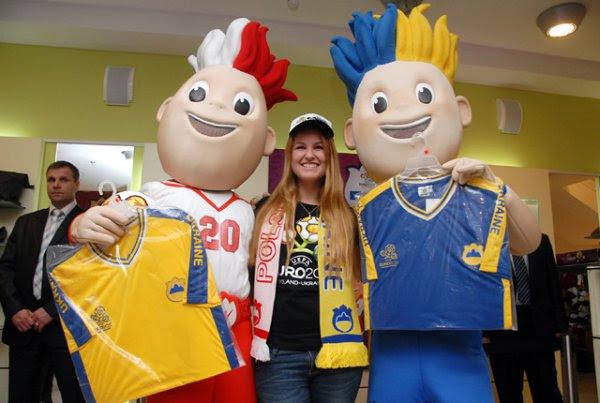 В Киеве открылся первый фирменный магазин Евро-2012