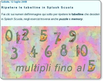 http://splashragazzi.splinder.com/post/17780867/Ripetere+le+tabelline+in+Splas