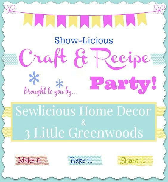 Saturday Party Banner Saturday ShowLicious Craft and Recipe Party LIVE!