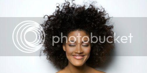smiling natural hair transition