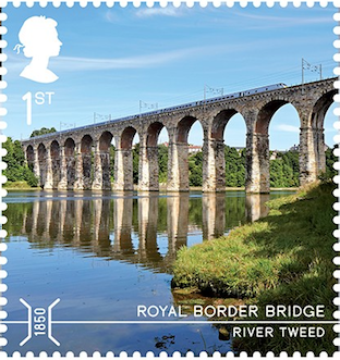 Royal Border Bridge Berwick-upon-Tweed.