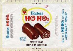 Hostess Ho Hos wrapper