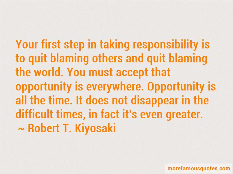 Quit Blaming Me Quotes Top 1 Quotes About Quit Blaming Me From