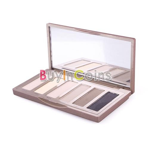 Naked Basics Palette Bare Makeup Cosmetic 6 Shades Eye Shadow