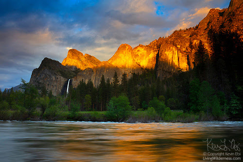 Valley View Sunset, Yosemite National Park, California