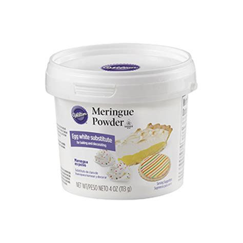 Wilton Meringue Powder 4 Oz. Gumpaste, Fondant and Edible