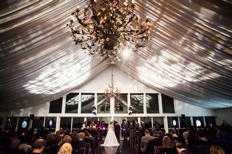 Winter Ceremony in the Lakeside Ballroom ~ The Lake House