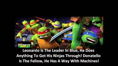Teenage Mutant Ninja Turtles Theme Song Lyrics Nickelodeon
