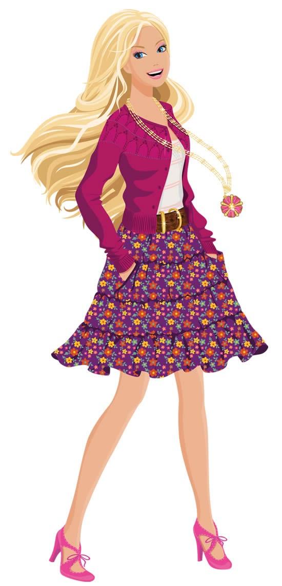 30+ Desenhos da Barbie para imprimir e colorir