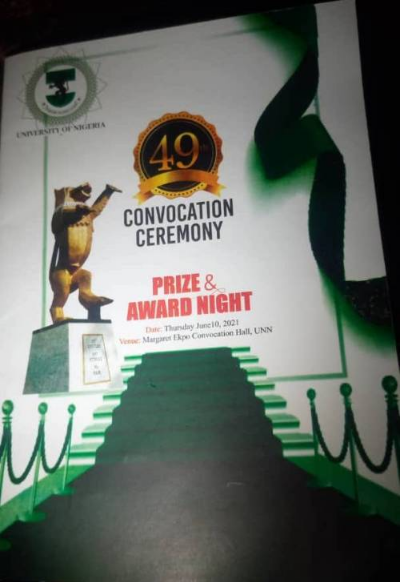 UNN Awards ₦1,000 to Best Graduating Students