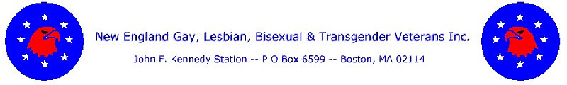 New England Gay, Lesbian, Bisexual & Transgender Veterans Boston MA