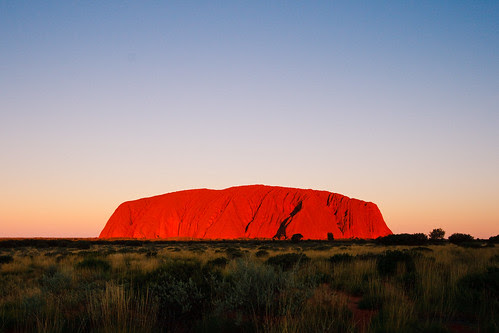 Sunset of Uluru (Ayers Rock)