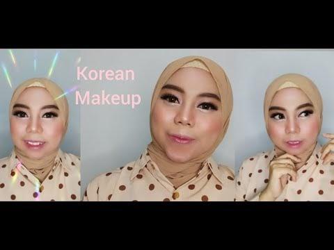 TUTORIAL MAKEUP KOREAN DENGAN ALIS INDONESIAN
