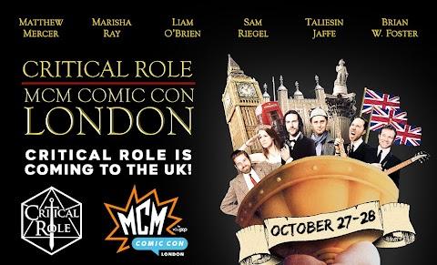 Mcm Comic Con Critical Role