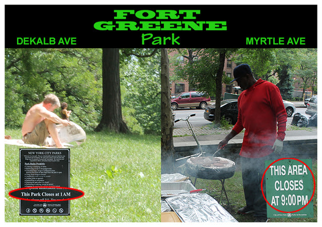 Ft. Greene Park's Different Closing Times Prompt Discrimination Fears