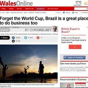 Site britânico 'Wales'