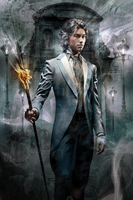 """Cliff Nielsen Art; Cover of """"Clockwork Prince"""" by Cassandra Clare"""