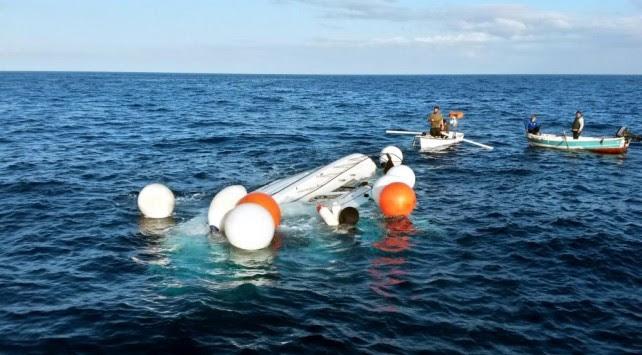 Αγαθονήσι: Παραλίγο τραγωδία με μετανάστες - Η βάρκα έβαλε νερά...