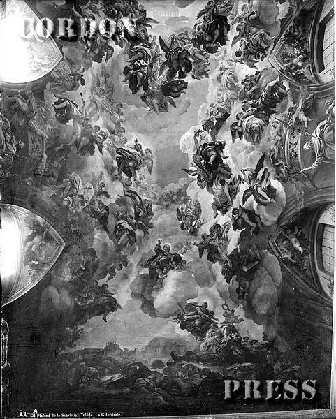 Frescos de la Sacristía de la Catedral de Toledo hacia 1875-80. © Léon et Lévy / Cordon Press - Roger-Viollet
