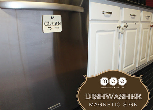 Dishwasher - Magnetic Sign4