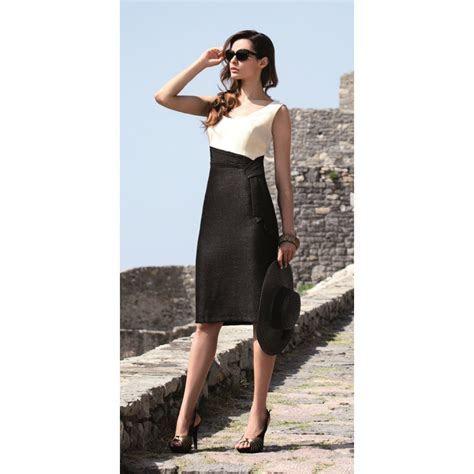 Michaela Louisa Cream and Black Dress 7635   Buy Michaela