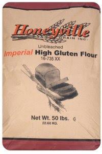 Amazon.com : Imperial High Gluten Flour - Bulk 50 Pound ...