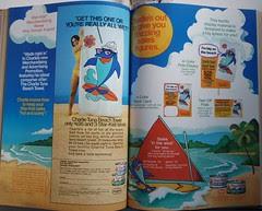 Charlie Tuna towel ad