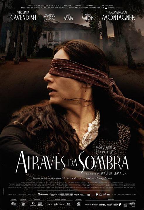 Através da Sombra : Poster