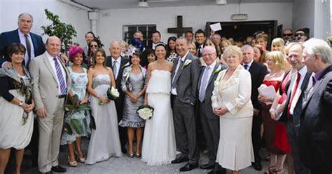 Douglas Hall celebrates wedding in Gibraltar   Chronicle Live