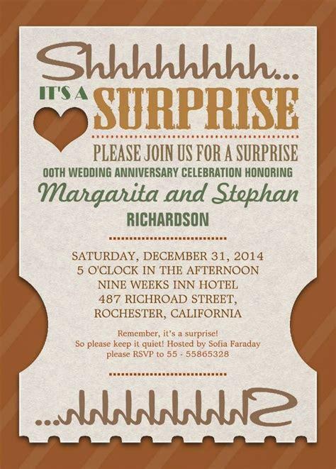 41 best Wedding Anniversary Invitations images on