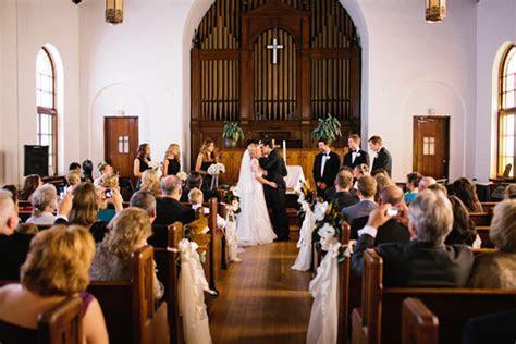 southern wedding st marks united methodist church new orleans