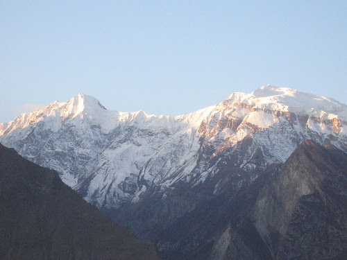 Another of the 7000m+ peaks, from Duikar viewpoint, sunrise
