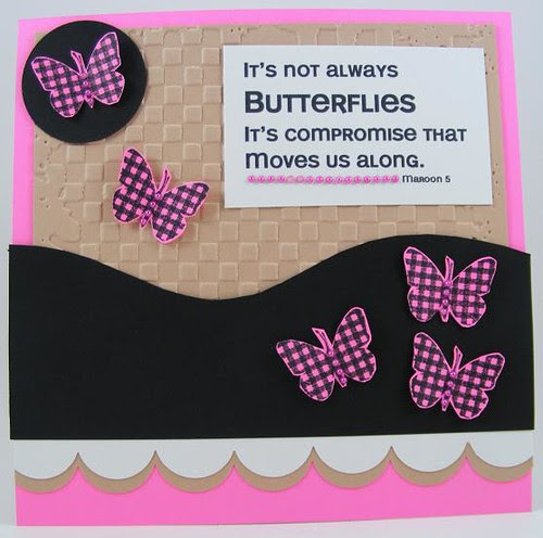 Butterfly Compromise Card