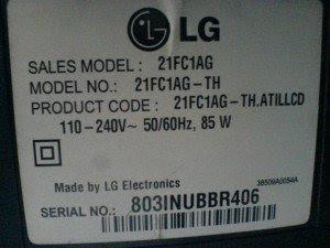 model televisi LG