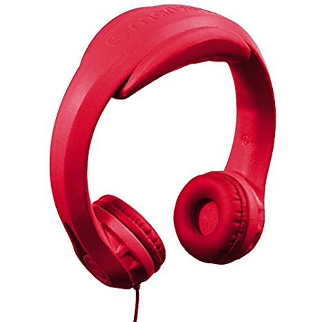 Kids Wired Headphones, Red
