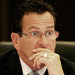 Gov. Dannel P. Malloy of Connecticut warns of cuts that