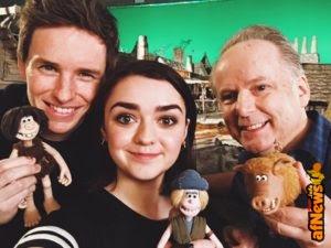 "Ashildir, Newt… e Loki(!) tra le ""voci"" del nuovo film Aardman, ""Early Man"""