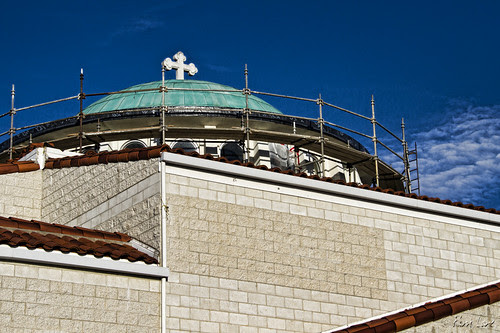 St. George Greek Orthodox Church construction