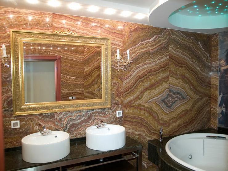Aranżacja łazienki w kamieniu naturalnym