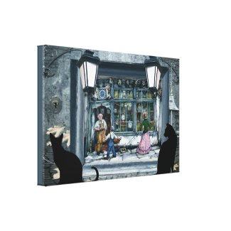 Anton Pieck incorparated reproduction Gallery Wrapped Canvas