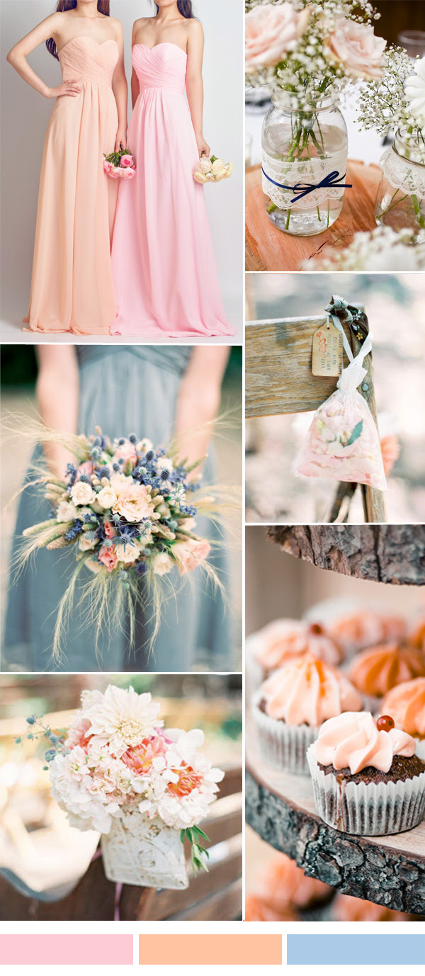 25 Hot Wedding Color Combination Ideas 2016 2017 And Bridesmaid