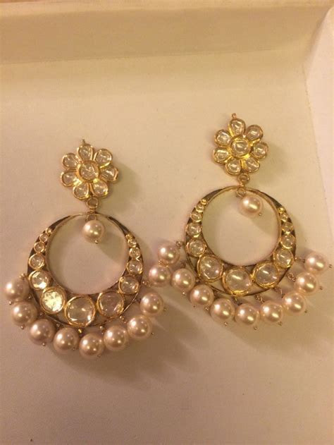 24 best Jadauu Earrings (Polki, Kundan) images on