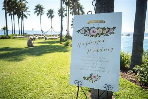 How to Have an Unplugged Wedding   A Perfect Blend