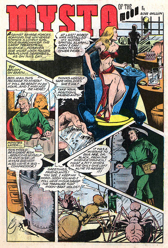 Planet Comics 40 - Mysta (Jan 1946) 00