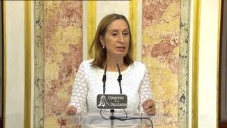 Ana Pastor, presidenta del Congrés