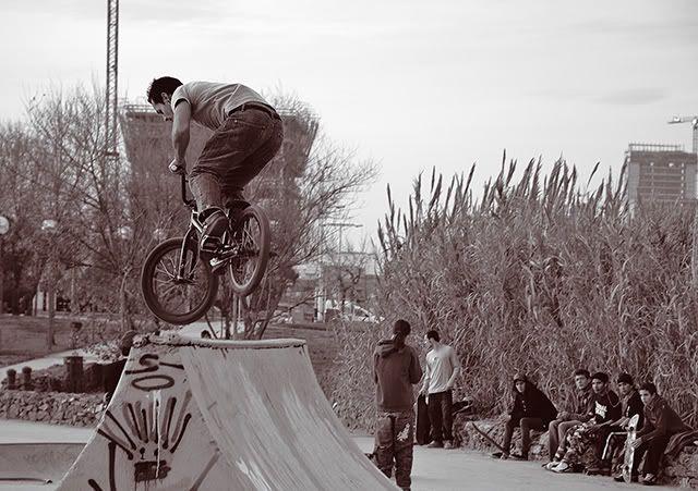 Defying Gravity on a BMX