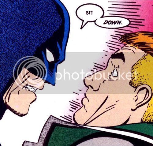 batman and guy